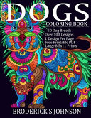Colorful Dogs Coloring Book