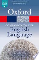 Oxford Companion to the English Language