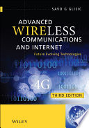 Advanced Wireless Communications and Internet Book