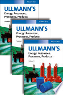 Ullmann's Energy, 3 Volume Set
