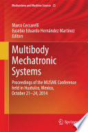 Multibody Mechatronic Systems Book