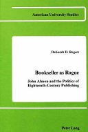 Bookseller as Rogue