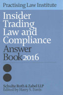 Insider Trading Law and Compliance Answer