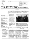 The CCWH Newsletter