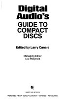 Digital Audio S Guide To Compact Discs Book PDF