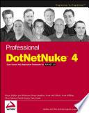 Professional Dotnetnuke 4