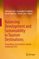 Pdf Balancing Development and Sustainability in Tourism Destinations Telecharger