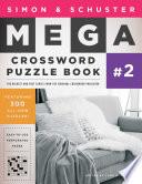 Simon Schuster Mega Crossword Puzzle Book 2