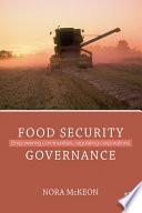 Food Security Governance