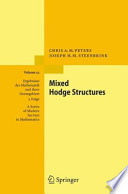 Mixed Hodge Structures Book PDF