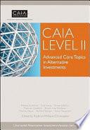 CAIA Level II Book