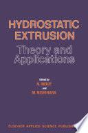 Hydrostatic Extrusion Book