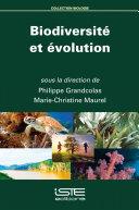 Pdf Biodiversité et évolution Telecharger