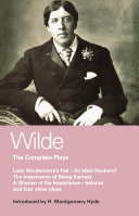 Wilde Complete Plays [Pdf/ePub] eBook