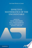 Effective Mathematics of the Uncountable Book
