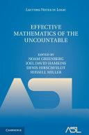 Effective Mathematics of the Uncountable