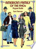 American Family Of The 1940s Paper Dolls
