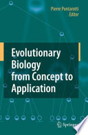 Evolutionary Biology from Concept to Application Book