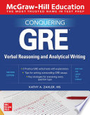 McGraw Hill Education Conquering GRE Verbal Reasoning and Analytical Writing  Second Edition