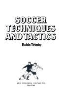Soccer Techniques and Tactics