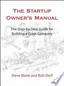 The Startup Owner S Manual PDF