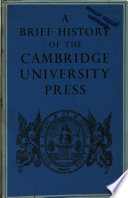 A Brief History of the Cambridge University Press
