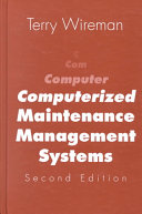Computerized Maintenance Management Systems