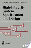 High Integrity System Specification and Design