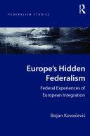Europe's Hidden Federalism Pdf/ePub eBook