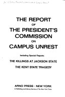The report of the President's Commission on Campus Unrest