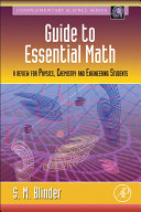 Guide to Essential Math: A Review for Physics, Chemistry and ...