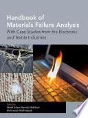 Handbook of Materials Failure Analysis Book