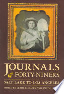 Journals of Forty-niners