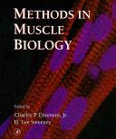 Methods in Muscle Biology