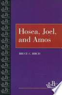 Hosea Joel And Amos Book PDF