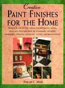 Creative Paint Finishes for the Home