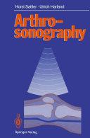 Arthrosonography