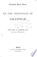 On the Principles of Grammar