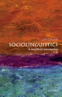 Pdf Sociolinguistics: A Very Short Introduction