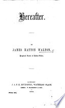 Hereafter. [A discourse on Rev. iv. 1.]
