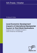 Local Economic Development Impacts of International Backpacker Tourism to Third World Destinations