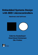Embedded Systems Design with 8051 Microcontrollers