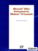 Microsoft Office for Windows 95 Essentials