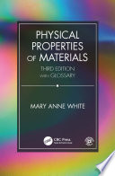 Physical Properties of Materials  Third Edition Book