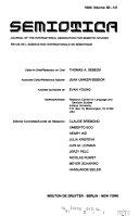 Semiotica Book PDF