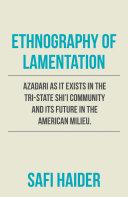 Ethnography of Lamentation [Pdf/ePub] eBook