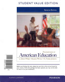 Foundations of American Education  Student Value Edition