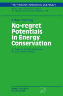 No regret Potentials in Energy Conservation