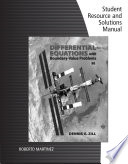 Student Solutions Manual for Zill's Differential Equations with Boundary-Value Problems