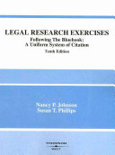 Legal Research Exercises, Following the Bluebook